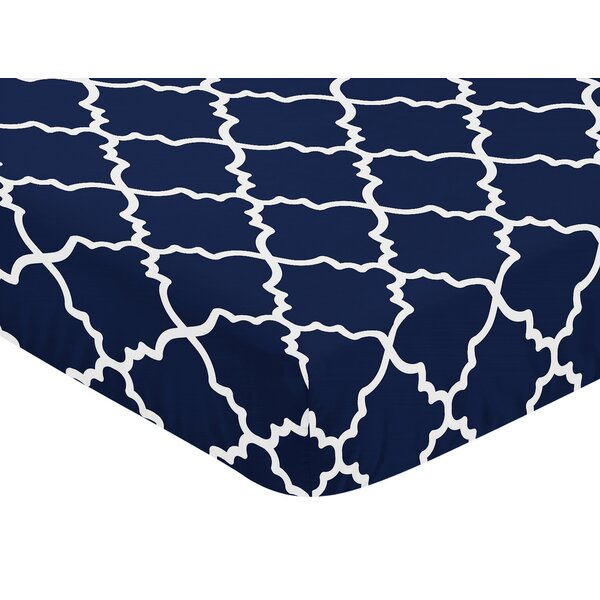 Trellis Fitted Crib Sheet by Sweet Jojo Designs