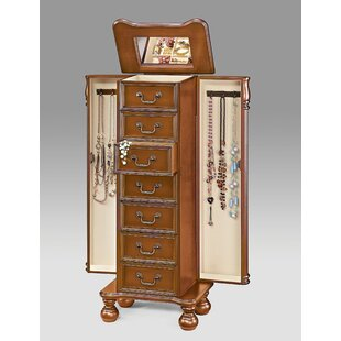 Shop For Mission Wood Free Standing Jewelry Armoire By Darby Home Co
