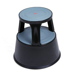 Surprising Tall Rolling Double 2 Steps Steel Step Stool With 330 Ib Load Capacity Pdpeps Interior Chair Design Pdpepsorg