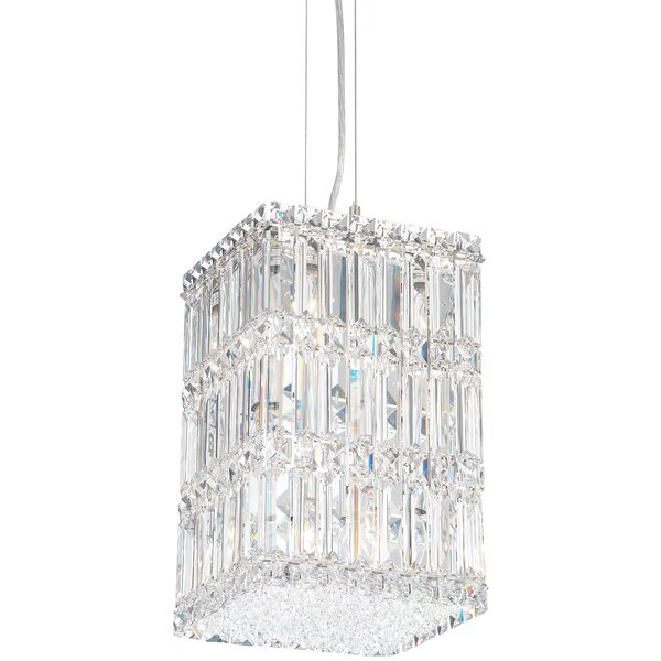 Quantum 9-Light Crystal Pendant by Schonbek