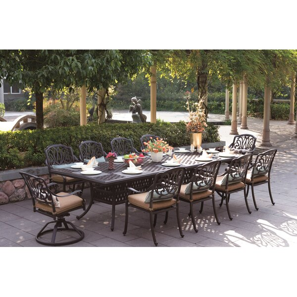 Elisabeth 11 Piece Patio Dining Set by Darlee