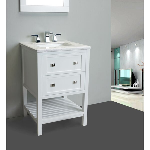 Keighley 24 Single Bathroom Vanity Set by Highland Dunes