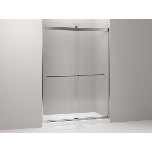 Levity 59.63'' x 82'' Double Sliding Shower Door with CleanCoat® Technology by Kohler
