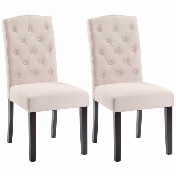 Plourde Upholstered Dining Chair (Set of 2) by Charlton Home