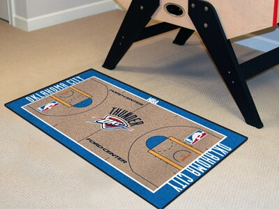 Nba - Oklahoma City Thunder Nba Court Runner Doormat By Fanmats.