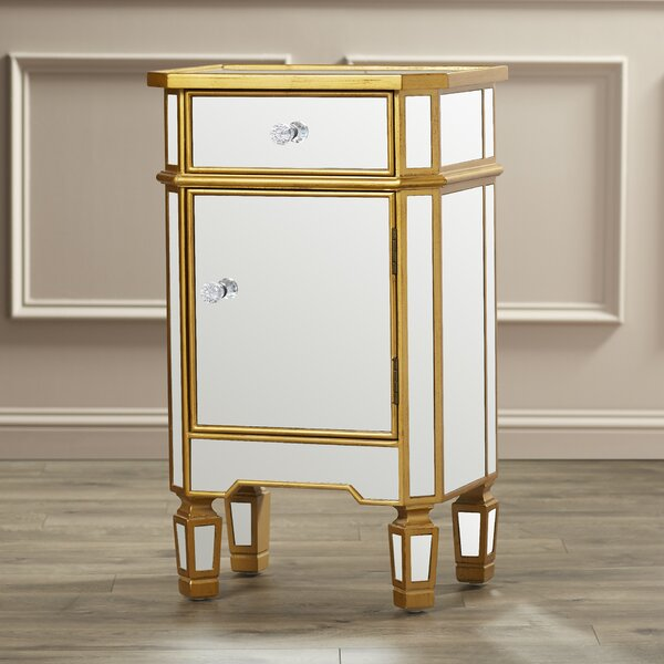 Lorenzo 1 Drawer Accent Cabinet by Willa Arlo Interiors