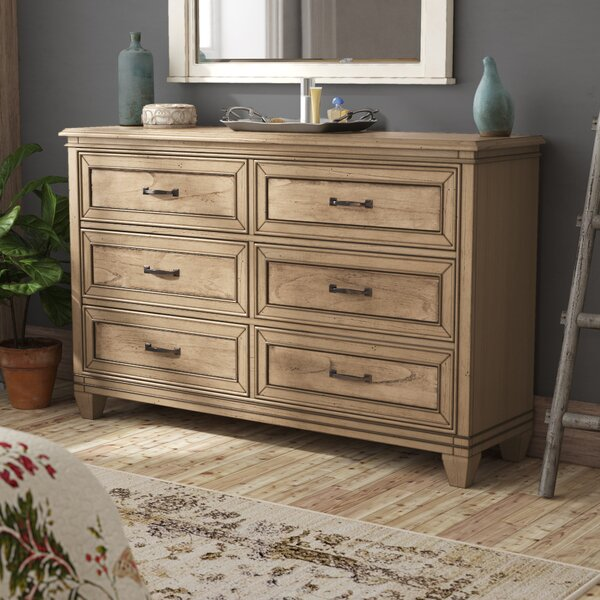 Hazzard 6 Drawer Double Dresser by Charlton Home