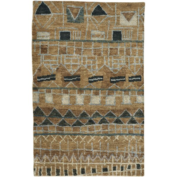 Striation Tan Area Rug by Capel Rugs