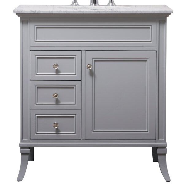 Hauser 32 Single Bathroom Vanity Set