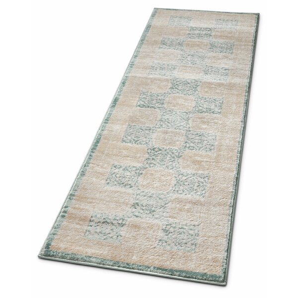 Carwill Blue Area Rug by Bungalow Rose