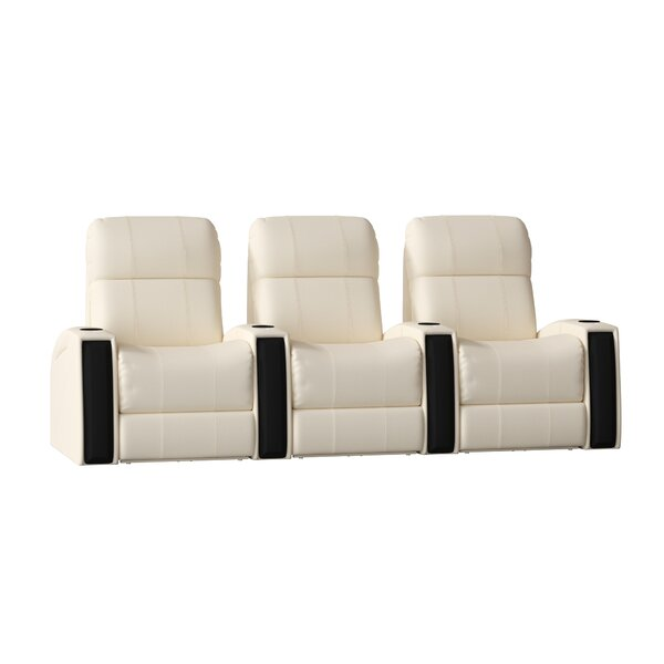 Home Theater Lounger Row Seating (Row Of 3) By Latitude Run