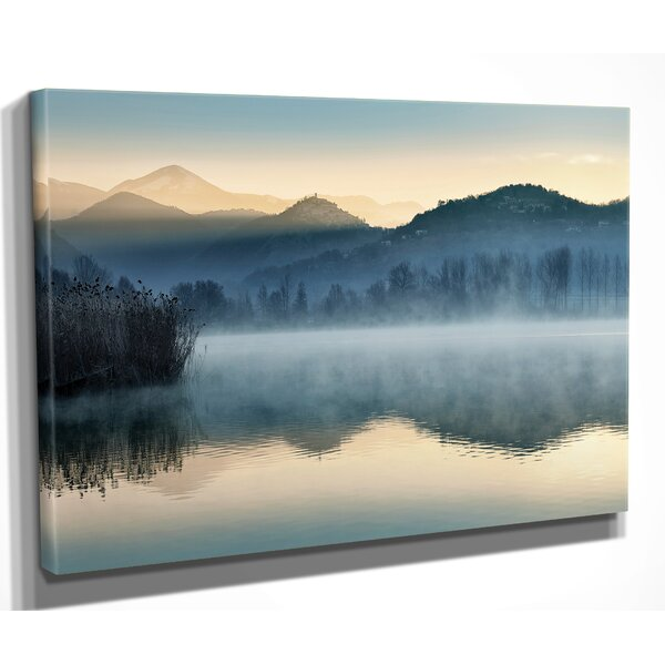 Quiet Morning Photographic Print On Wrapped Canvas By Millwood Pines.
