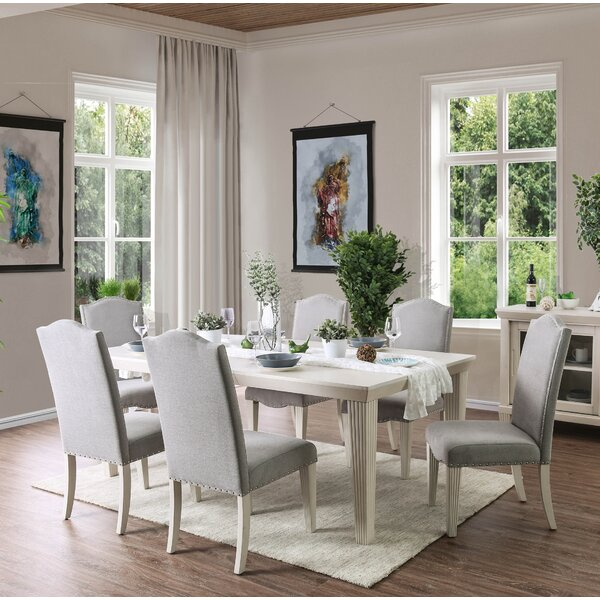 Mercedes 7 Piece Extendable Dining Set by One Allium Way