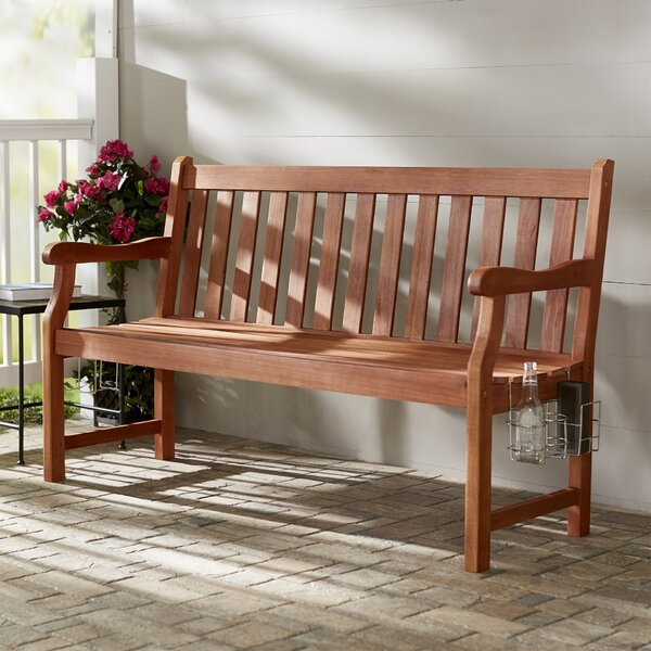 Monterry 3-Seater Wood Garden Bench by Beachcrest Home