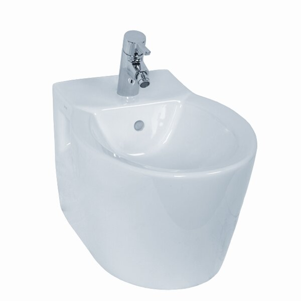 Sunrise 15.75 Wall Mount Bidet by VitrA by Nameeks