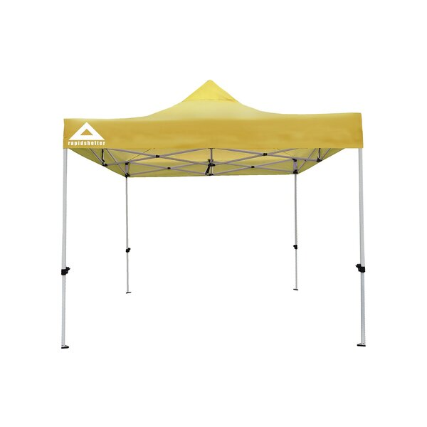 Rapid 10 Ft. W x 10 Ft. D Steel Pop-Up Canopy by Caddis Sports