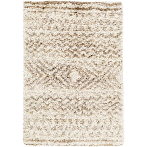 Hutchinson Wheat/Cream Area Rug by Mistana