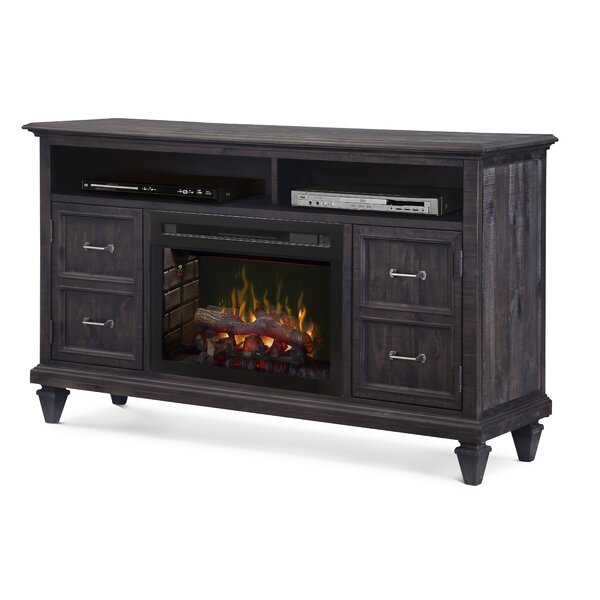 Solomon 62 TV Stand with Fireplace by Dimplex