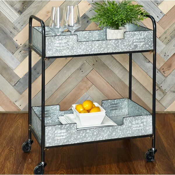 Portland Iron Bar Cart by Williston Forge Williston Forge