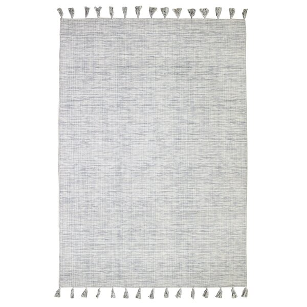 Willey Hand-Woven Wool Ivory Area Rug by Breakwater Bay