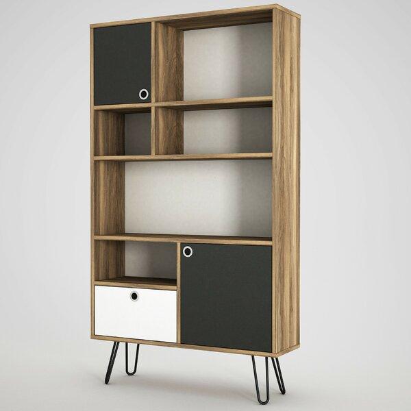 Lillyana Geometric Bookcase By Brayden Studio