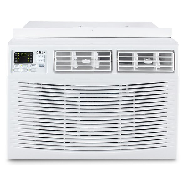 10,000 Energy Star Window Air Conditioner with Remote by Della