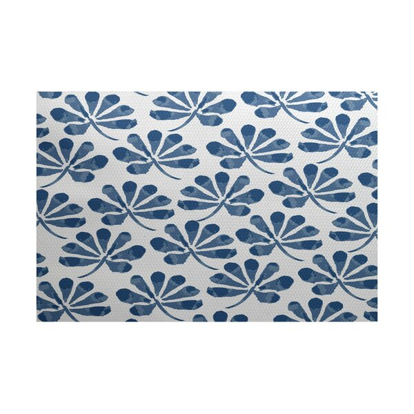 Allen Park Blue Indoor/Outdoor Area Rug by Latitude Run