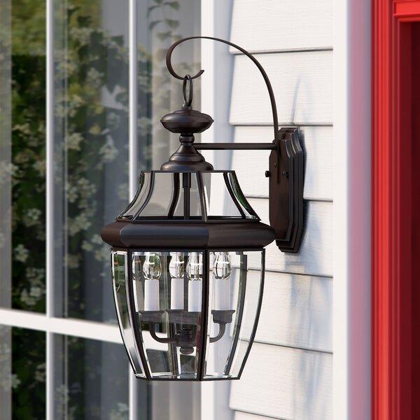 Mellen 3-Light Outdoor Wall Lantern by Three Posts