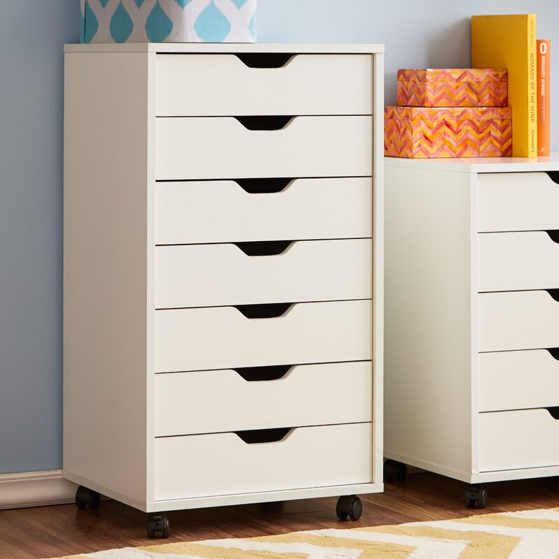 Zipcode Design Riley 7 Drawer Cabinet & Reviews | Wayfair