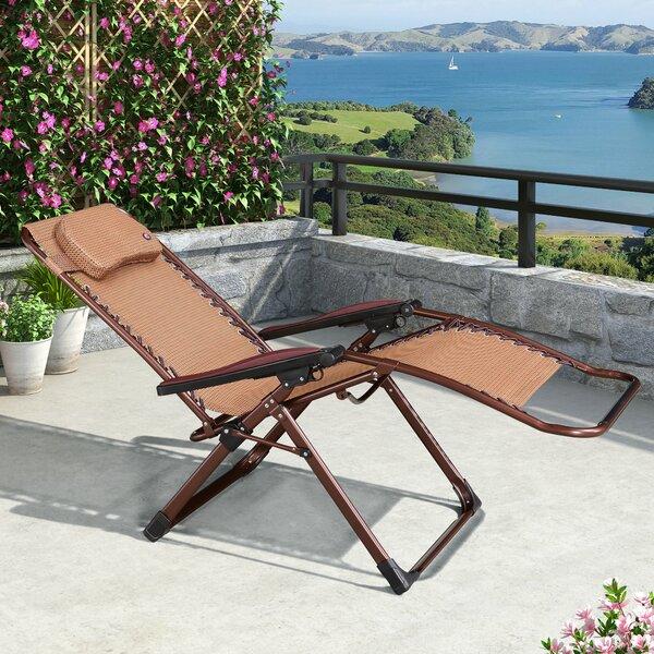 Walsall Reclining/Folding Zero Gravity Chair by Freeport Park Freeport Park