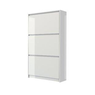 Ridgley 16 Pair Shoe Storage Cabinet