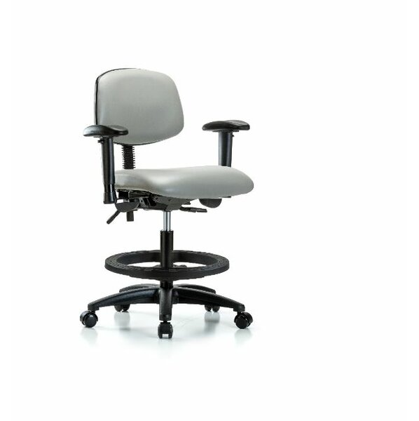 Lyric Medium Bench Office Chair by Symple Stuff