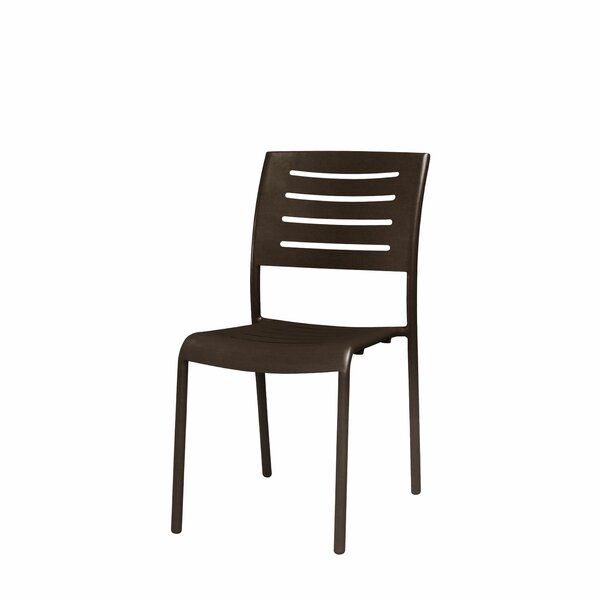 Adele Stacking Patio Dining Chair by Source Contract