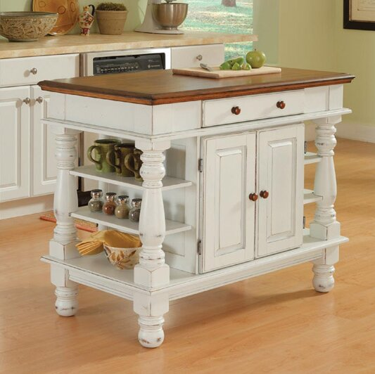 Collette Kitchen Island By August Grove No Copoun