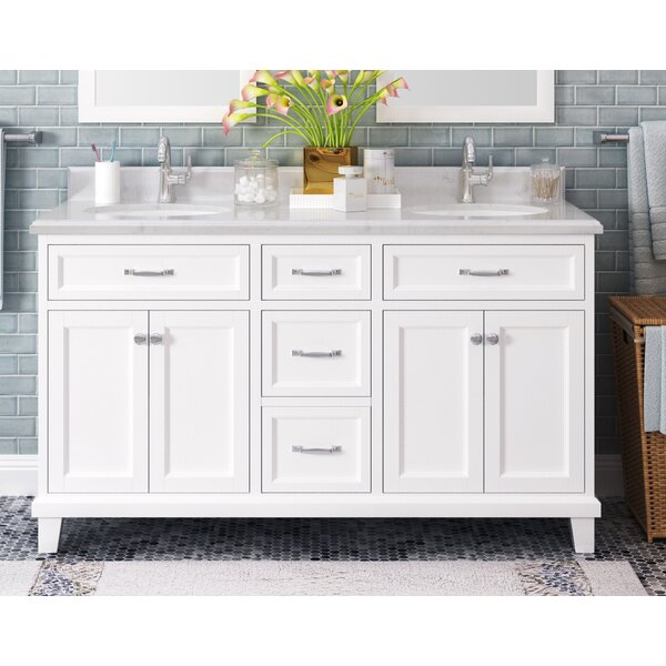 Tristian 60 Double Bathroom Vanity Set by Charlton Home