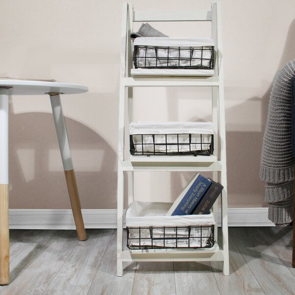 Foldable Ladder Bookcase by JIA HOME