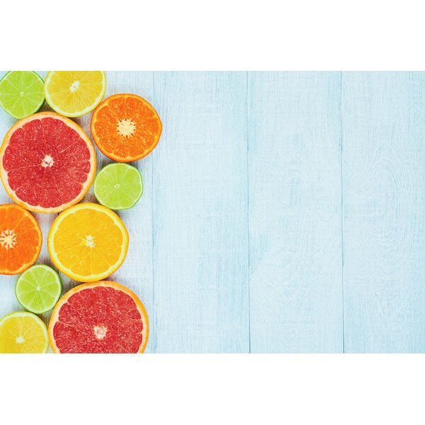 Fruits Foam Placemat (Set of 4) by East Urban Home