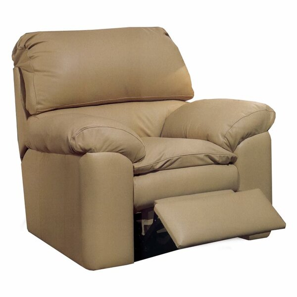 Catera Leather Manual Lift Assist Recliner by Omnia Leather Omnia Leather