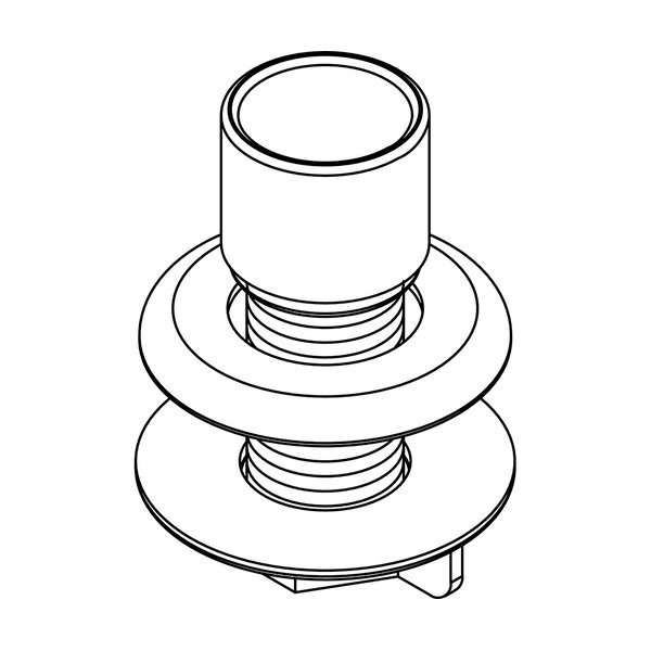 Hose Guide and Mounting Kit by Central Brass