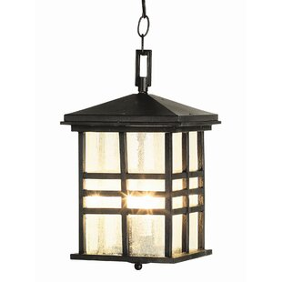 Compare prices 2-Light Outdoor Hanging Lantern By TransGlobe Lighting