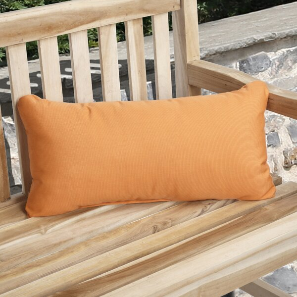Knife Edge Indoor Outdoor Lumbar Pillow (Set of 2) by Mozaic Company