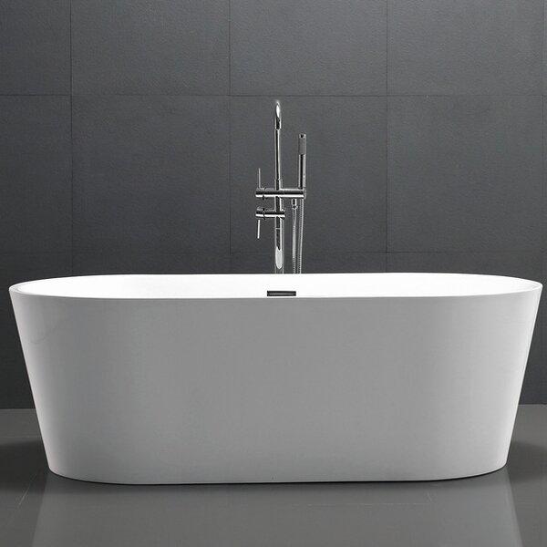 HelixBath Agora 68 x 32.25 Soaking Bathtub by Kardiel