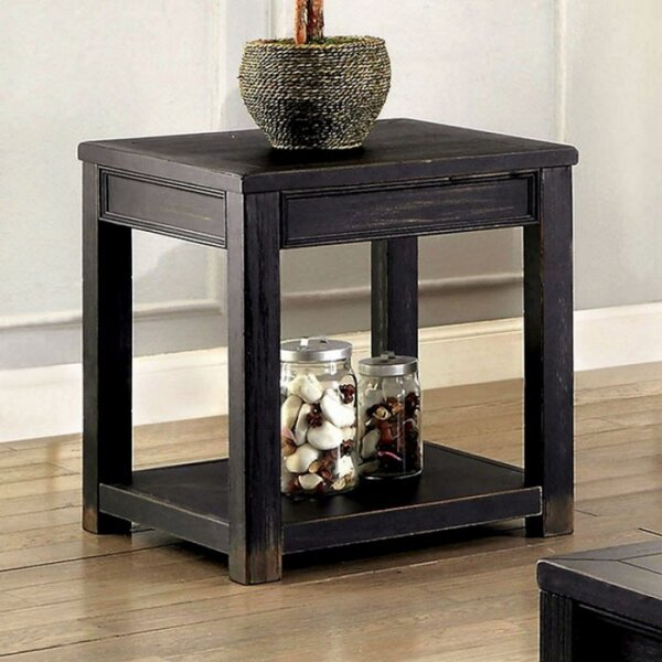 Swanscombe End Table by World Menagerie World Menagerie