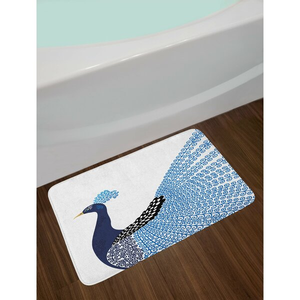 Animal Exotic Wild Bath Rug by East Urban Home