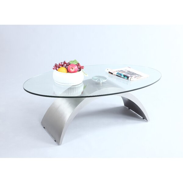 New Informality Coffee Table By Orren Ellis