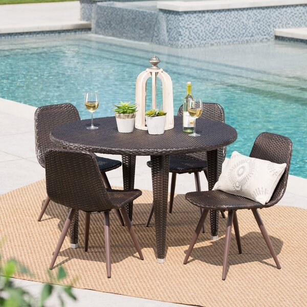 Borkholder 5 Piece Dining Set by Ivy Bronx