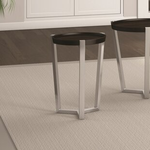 Great Price Cirque Chairside Table by Caravel