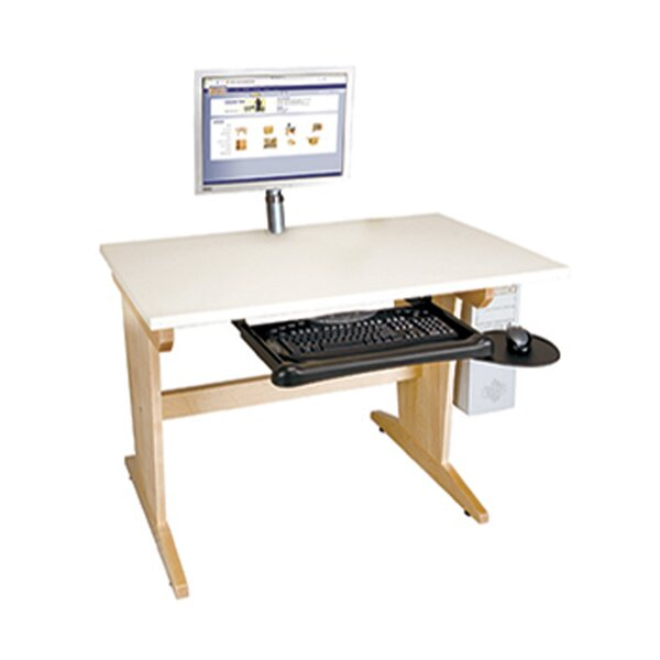 Computer Aided Solid Wood Drafting Table
