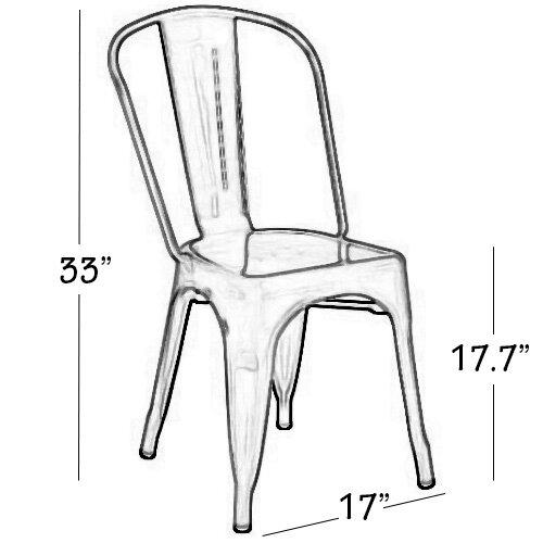 Cassandra Side Chair (Set of 4) by Vandue Corporation