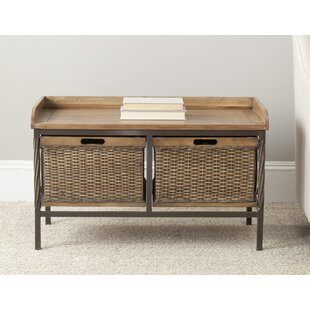Lindy Wooden Storage Bench